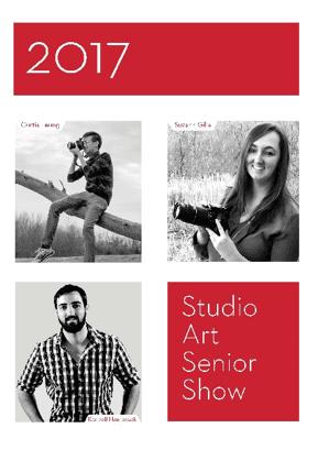 graphic + interactive design 2017 senior show