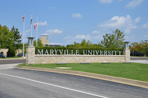 Maryville University Campus Map Locations & Directions - Main Campus