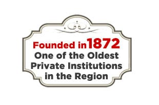 Infographic - A private college in St. Louis, Missouri was founded in 1872.