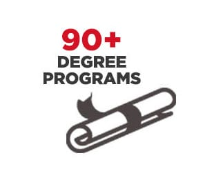Infographic - 90+ degree programs