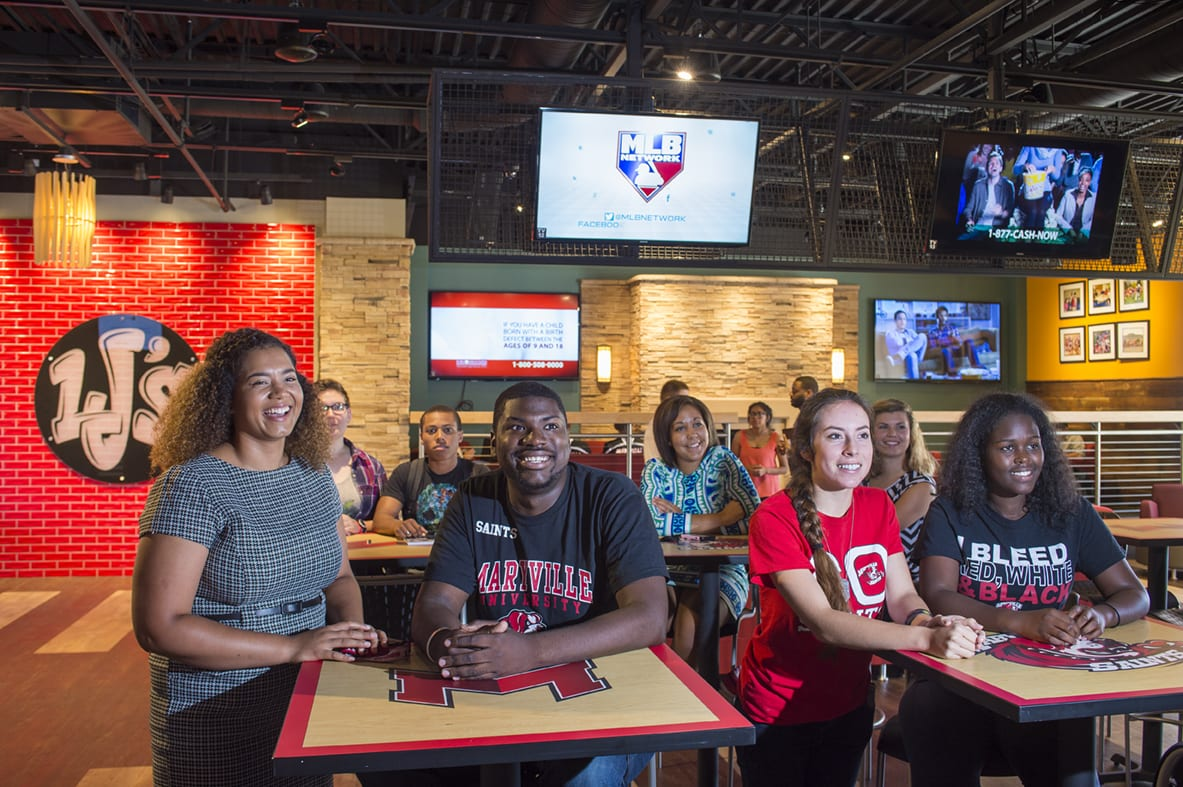Maryville University FAQs - Students at LJ's