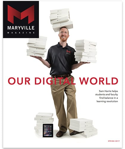 Click to view the Spring 2017 Maryville Magazine