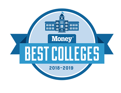 Best college logo by Money