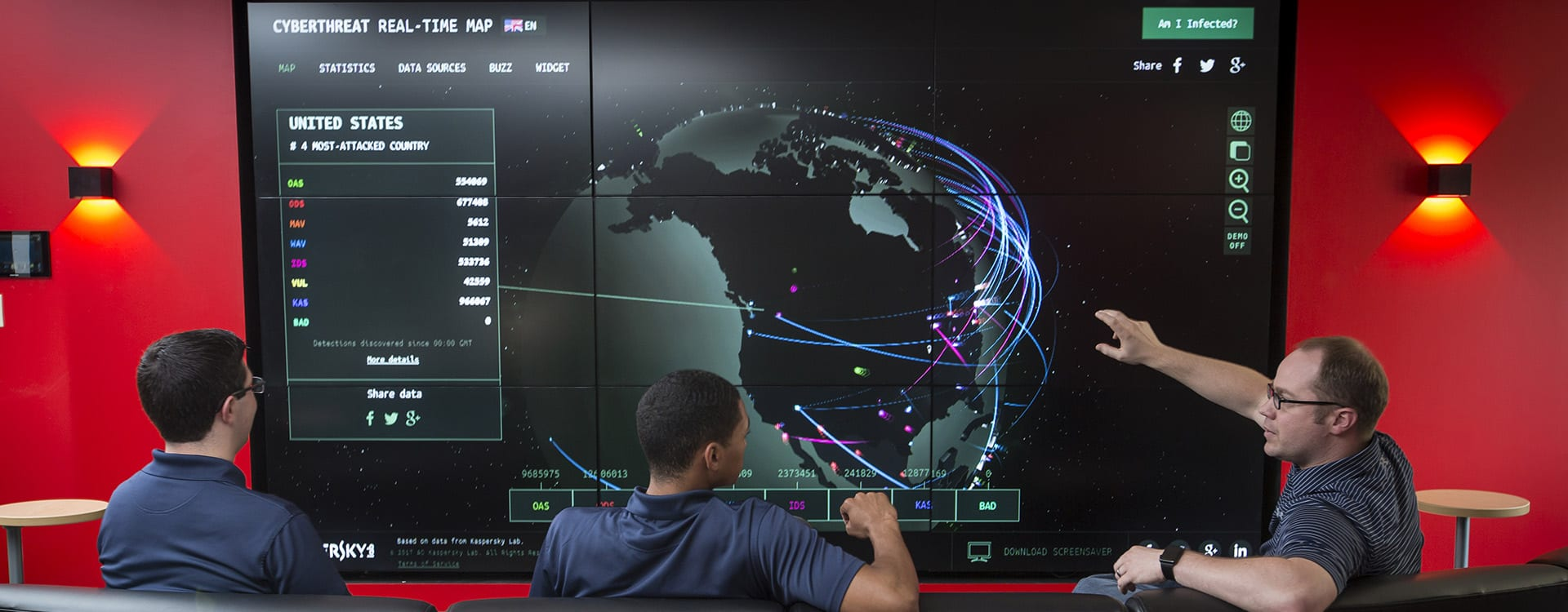 Cyber Security program is in the Simon School of Business