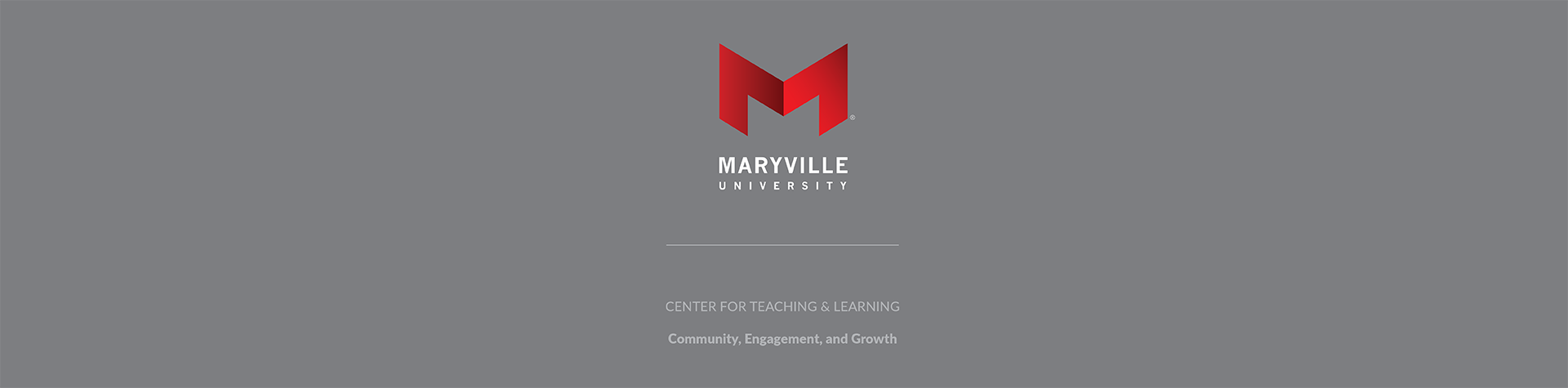 center for teaching and learning banner with logo