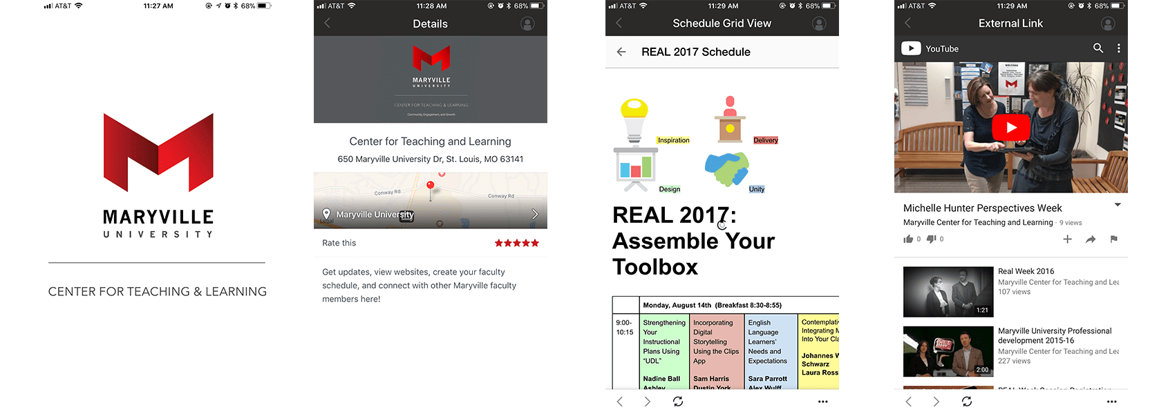 Center for Teaching and Learning app