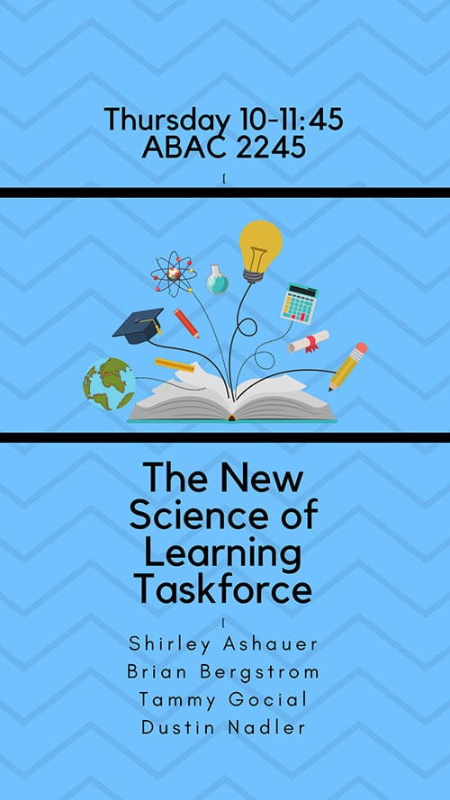 science of learning poster