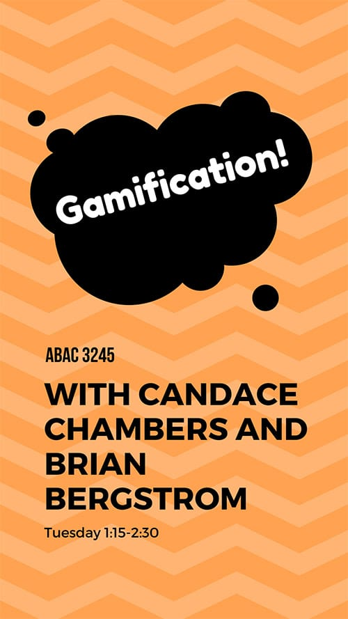 gamification poster