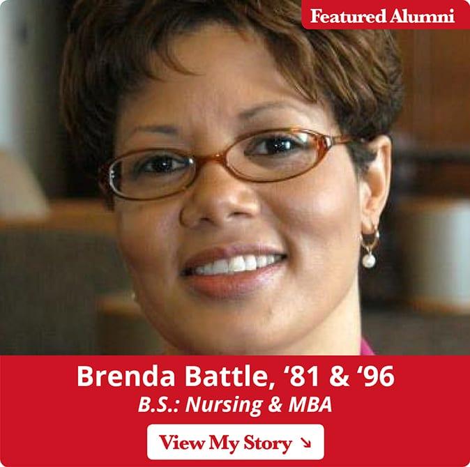 Maryville alumni Brenda Battle