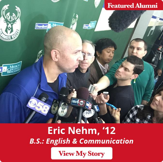 Maryville alumn Eric Nehm, '12