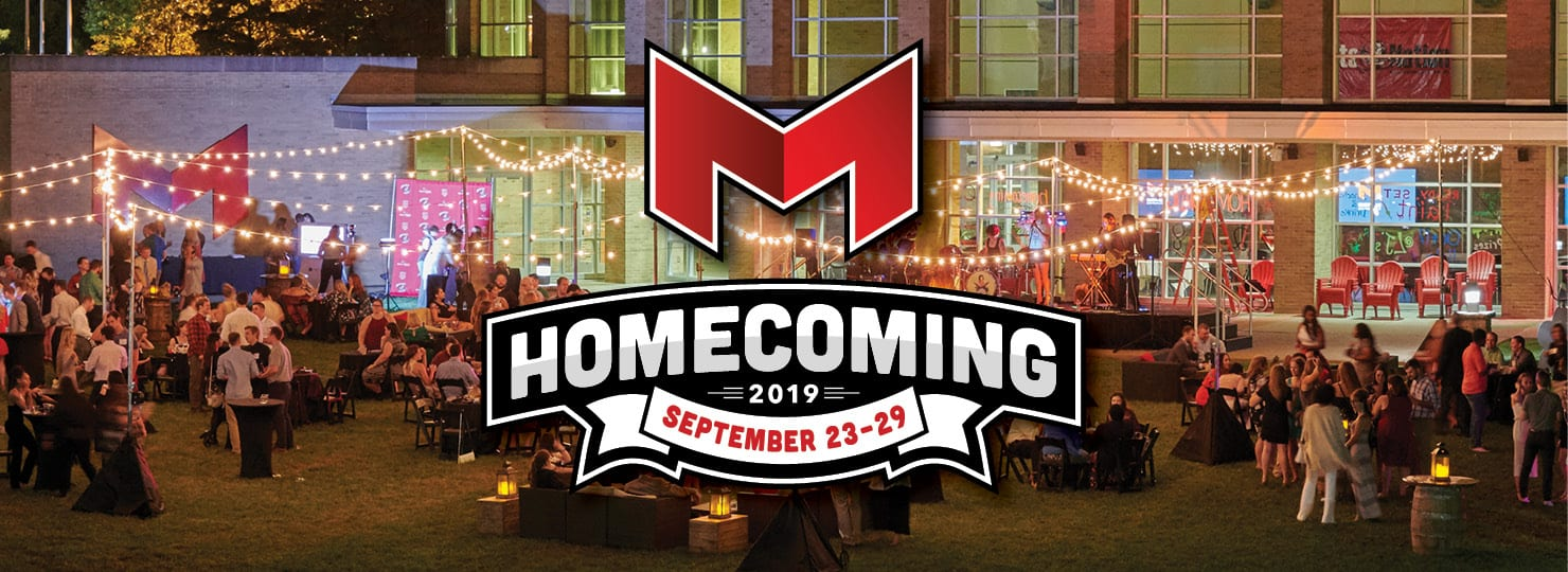 2019 Homecoming Sept. 23 - 29
