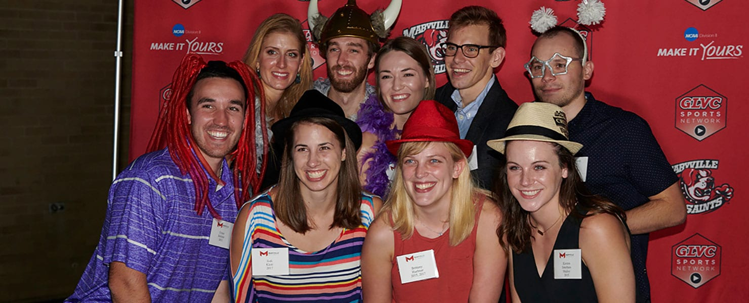 maryville alums having fun at homecoming