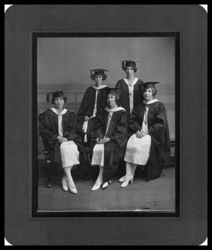 Maryville College's first graduating class, Class of 1925