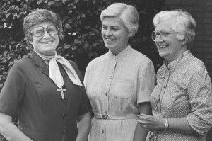 Sisters O'Meara, Thro and Byles