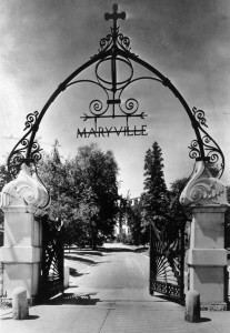 Maryville gate in 1941