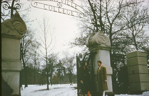 Maryville College in winter