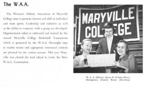 Women's Athletic Association of Maryville College