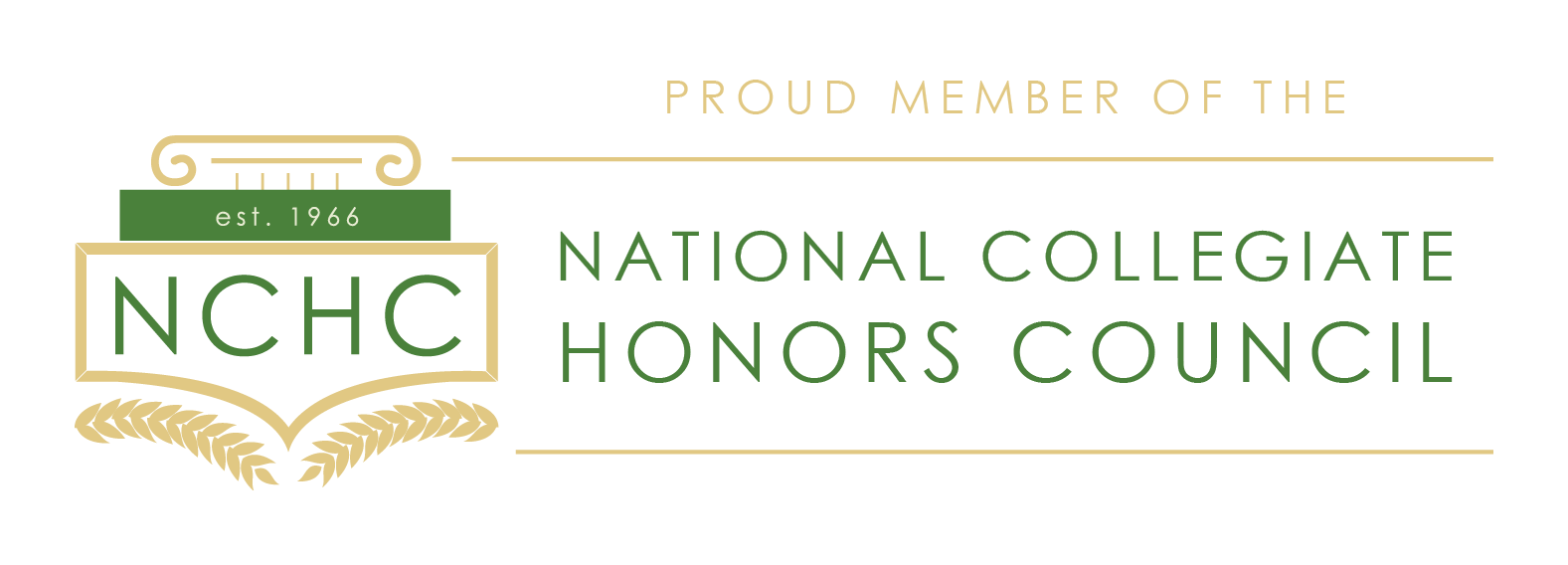 national collegiate honors council logo
