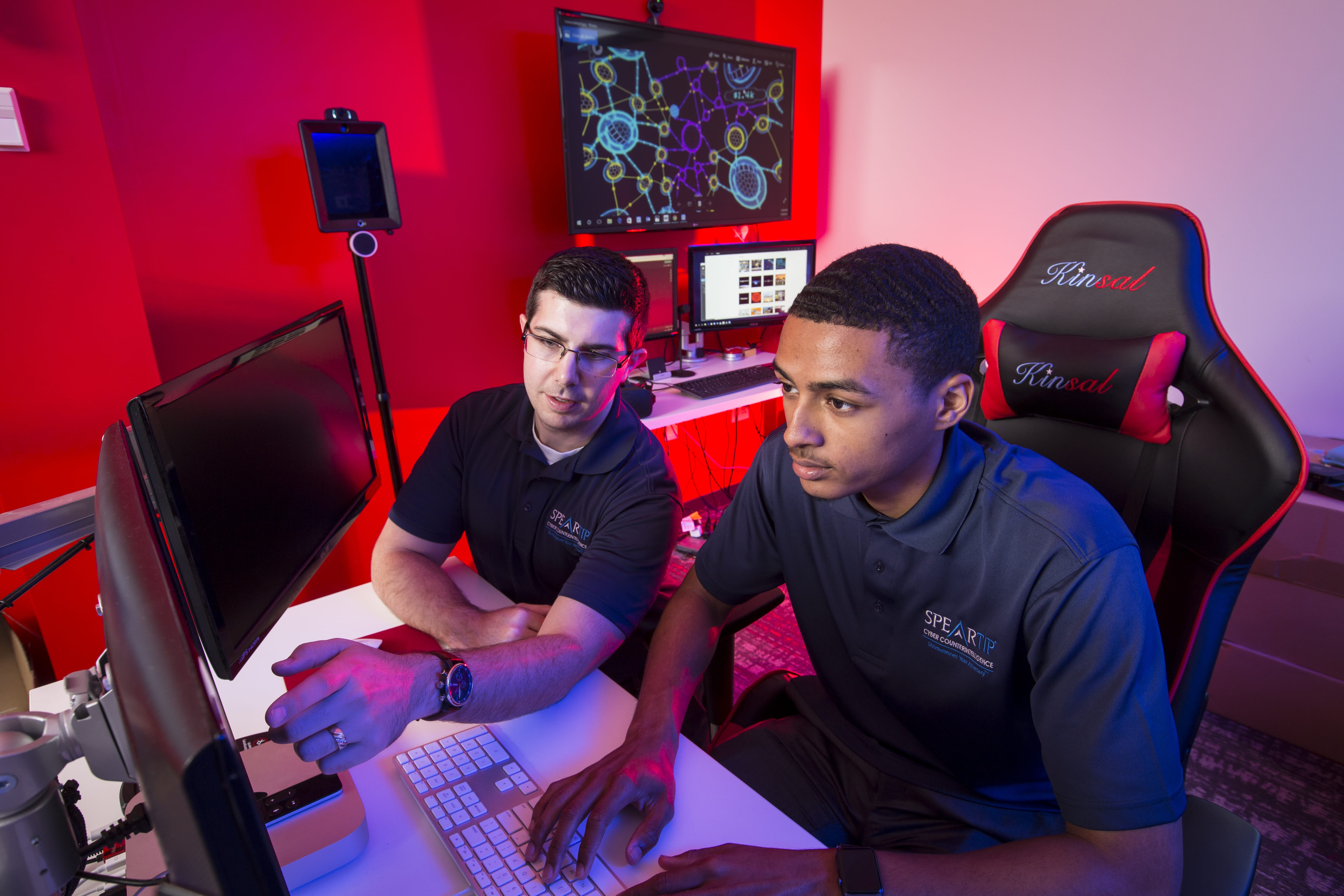 cyber security students at Maryville University