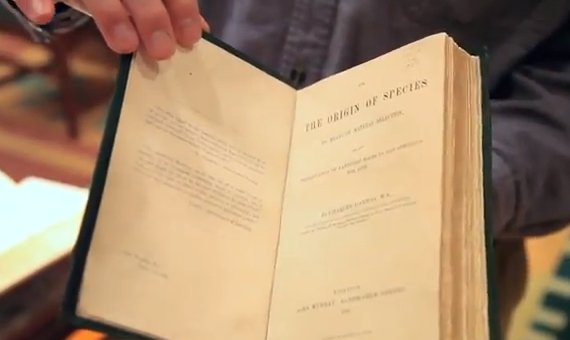 Charles Darwin - Origin of the Species Book