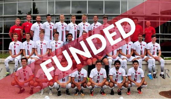 men's soccer team crowdfund