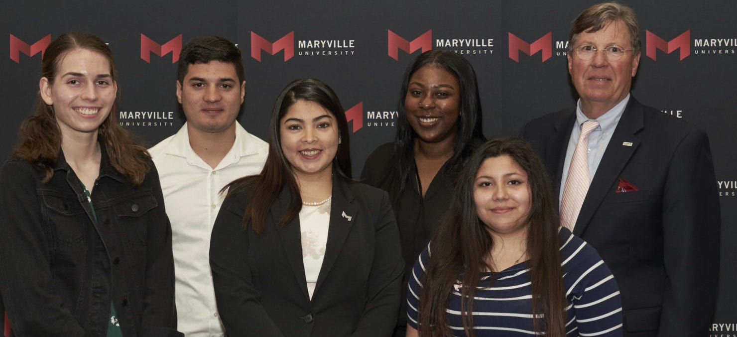 Maryvilel students who received scholarships