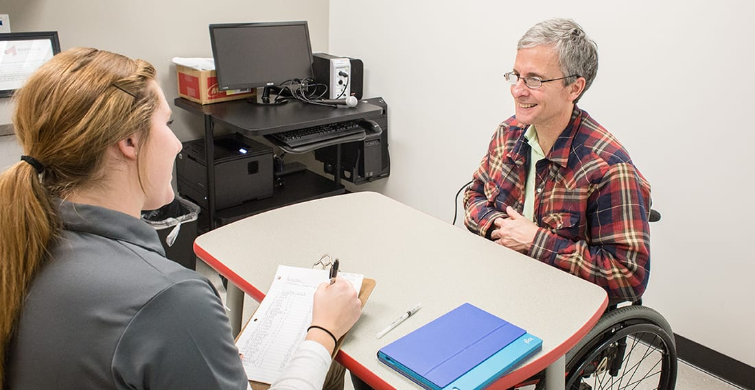 speech pathologist coursework Graduate students must take the national examination in speech-language  pathology prior to graduation and submit their scores to baylor university  students.