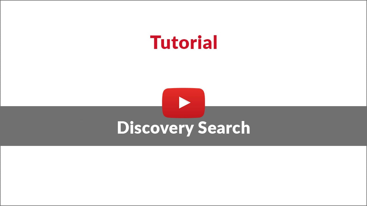 single source search tool tutorial video