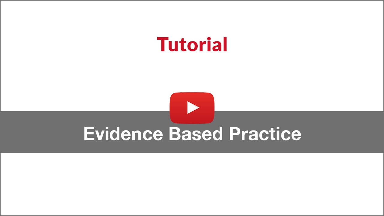evidence-based practice video