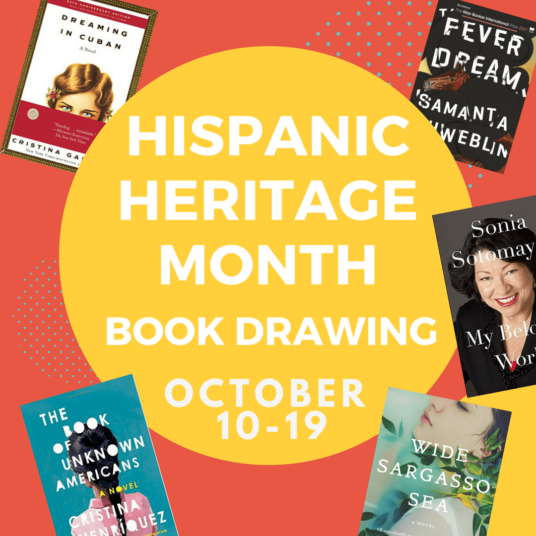 hispanic heritage month in october book drawing