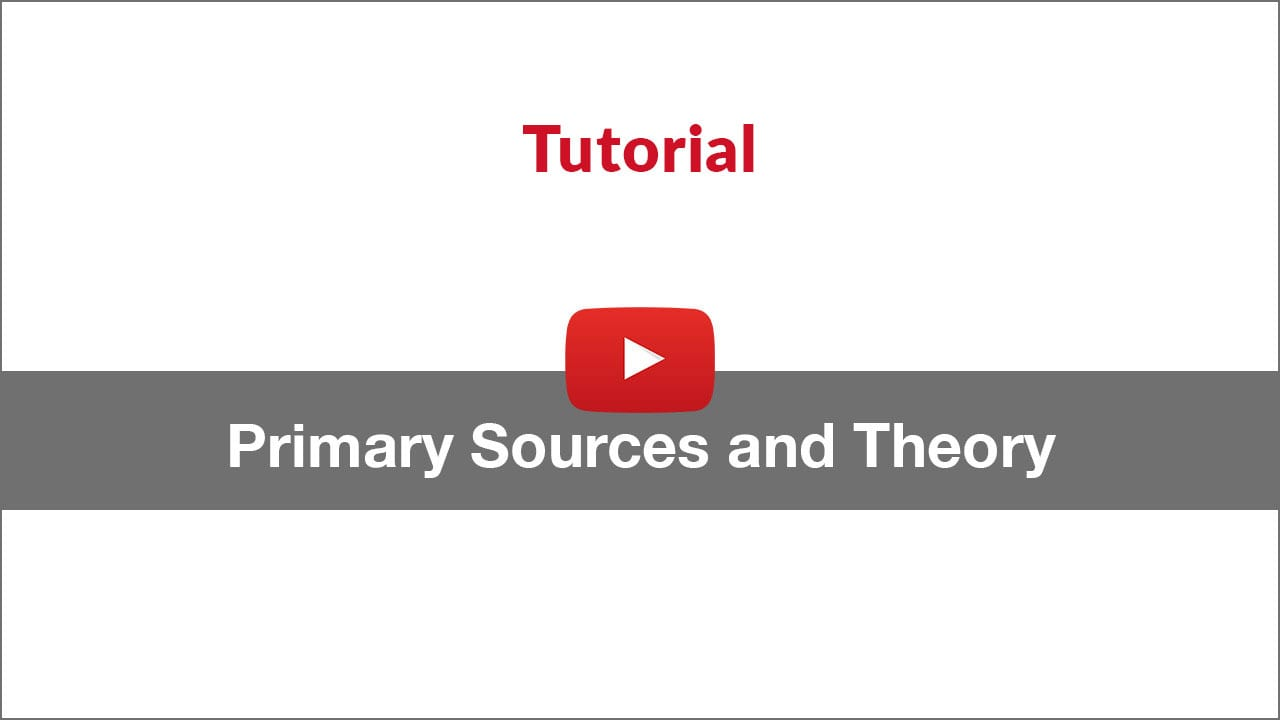 primary sources tutorial video