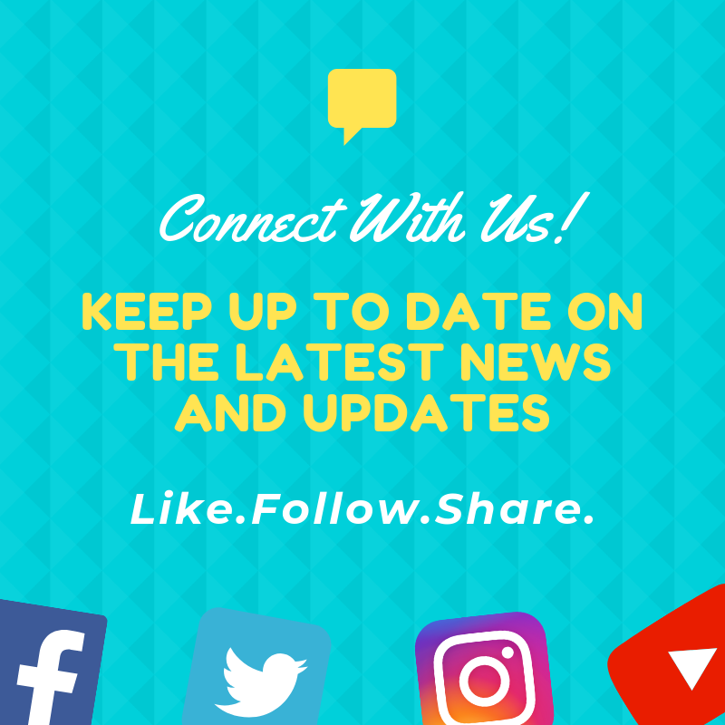 connect with our social media
