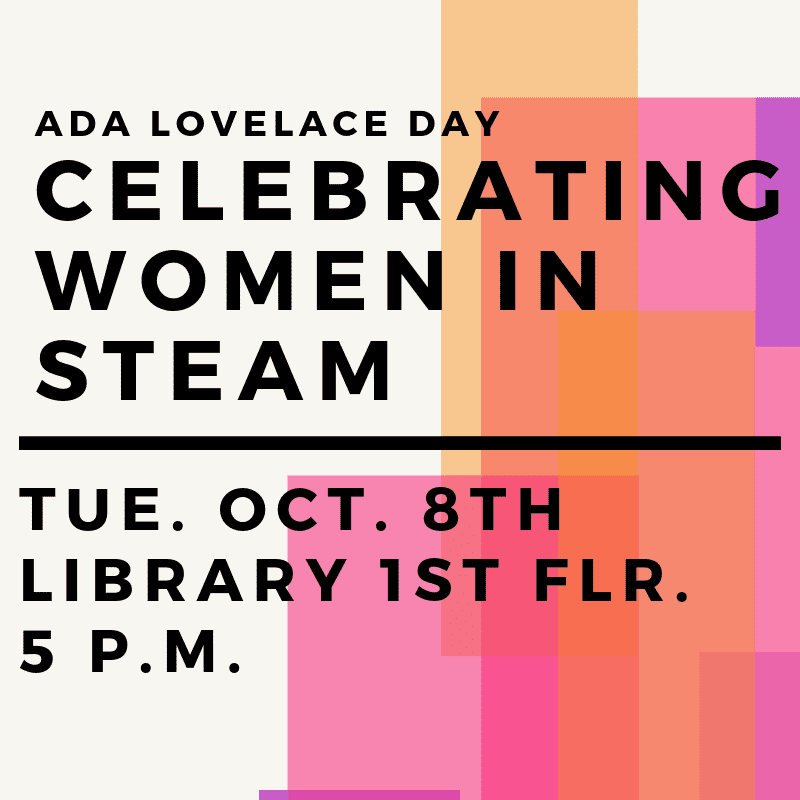 Celebrating Women in Steam poster