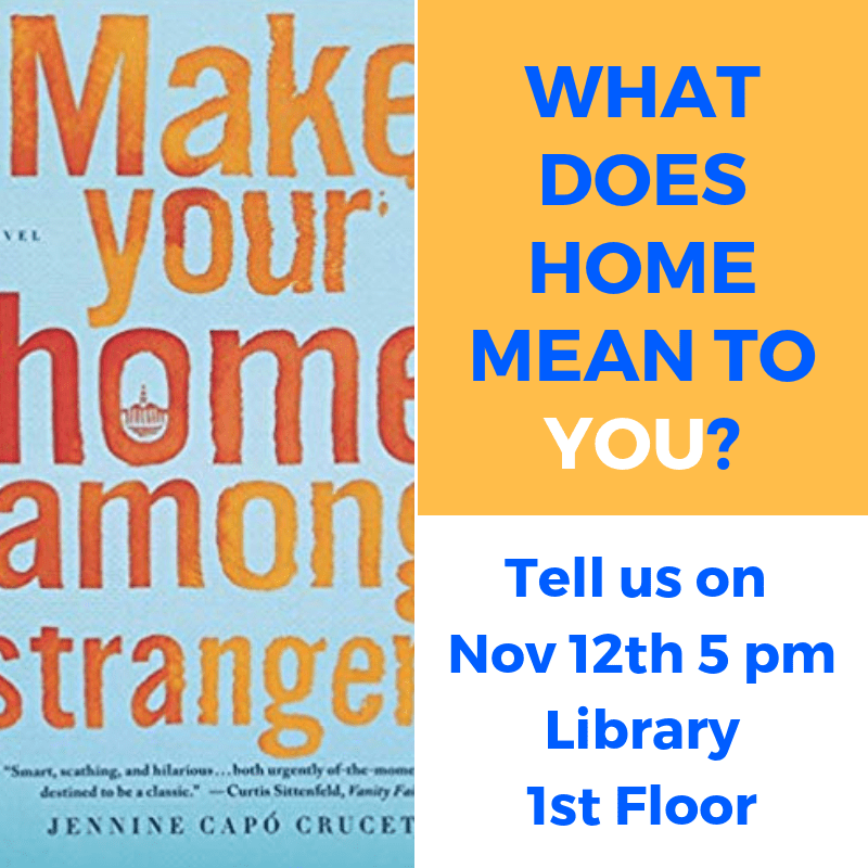 What is home event on Nov. 12 poster