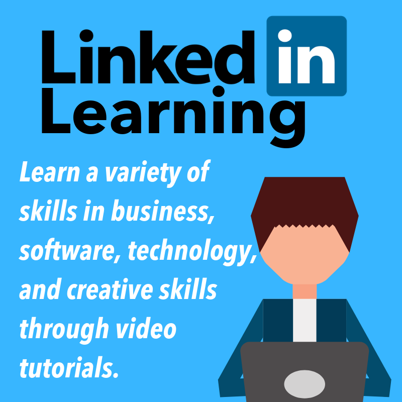 maryville library linkedin learning poster