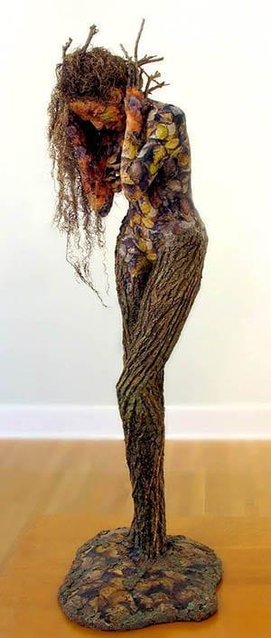 Mourning Moss: A sculpture by Adam Long