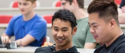 Jason Wilder, '11, and Alex Lam, '11