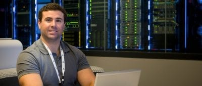 Maryville University Alumnus Jake Simino, '15, works in cyber security