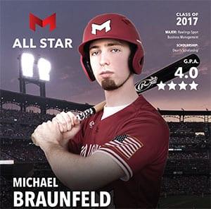 Michael Braunfeld Maryville All-Star Student