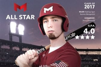 Michael Braunfeld Maryville's All-Star Student