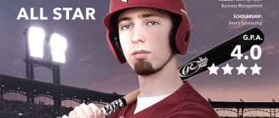 Michael Braunfeld Maryville's All-Star Student