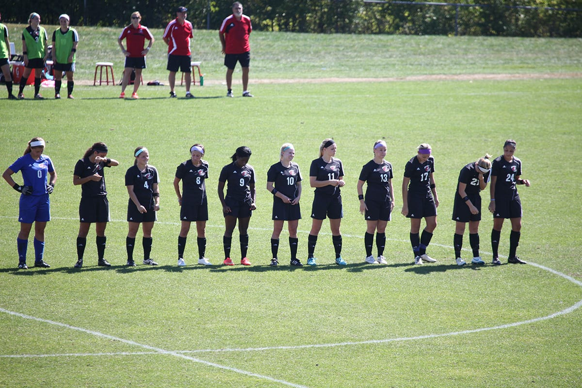 Maryville women's soccer players trying to highlight club's history