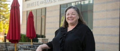 Maryville nursing professor and neurorehabilitation nurse Linda Schultz