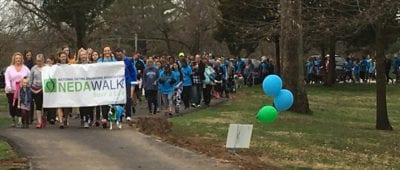 Maryville University will co-sponsor the 2018 NEDA Walk to raise awareness about eating disorders.