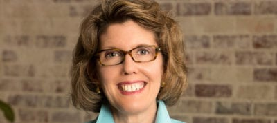 Margaret Onken is Maryville University's vice president for development.