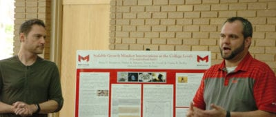 Maryville University professor Dustin Nadler expands reach of student research