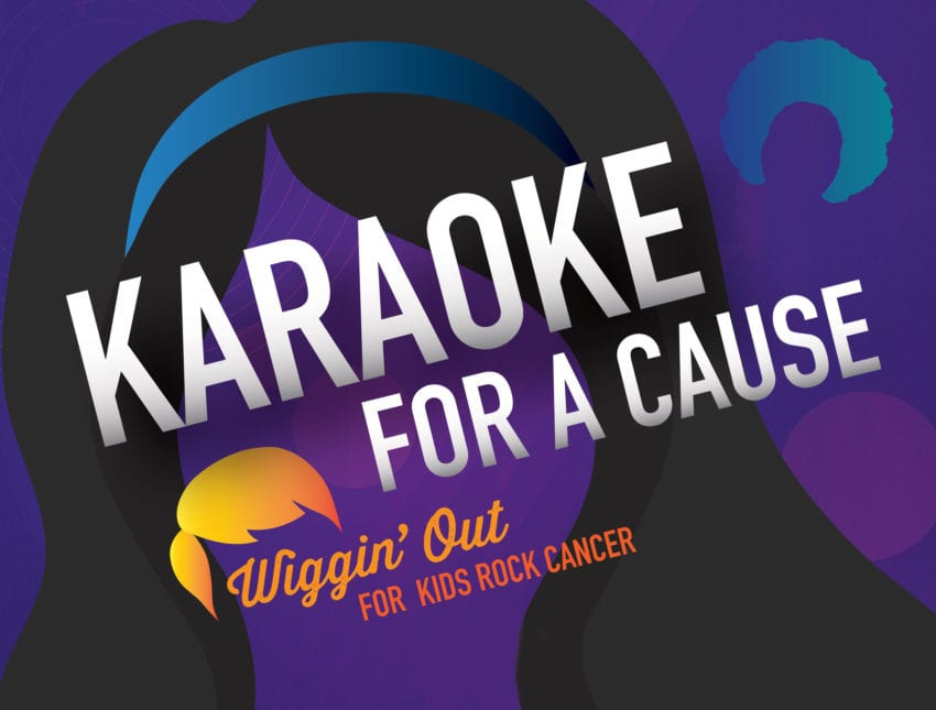 Karaoke for a Cause event
