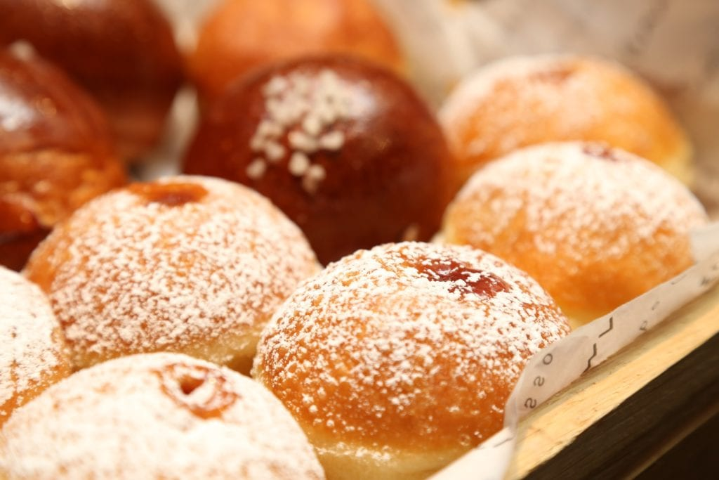 jelly donuts for hanukkah