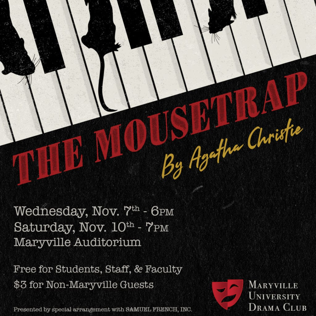 The Mouse Trap by the Maryville University Drama Club