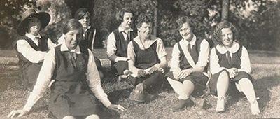 Maryville's badminton team from beginnig